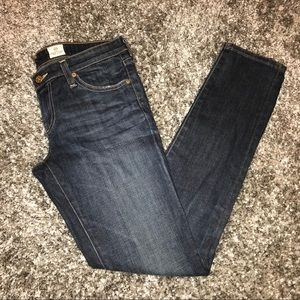 AG Adriano GoldschmiedStilt Skinny Jeans 28 X 30